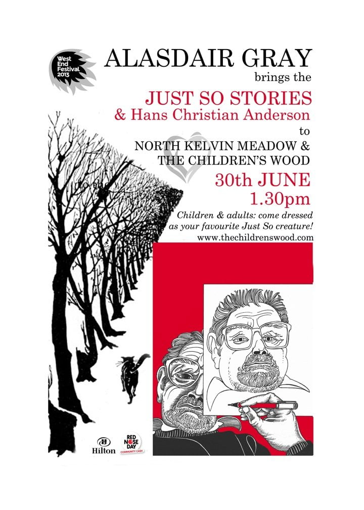 Alasdair Gray reads Just So Stories