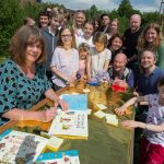 Julia Donaldson visits the Children's Wood and Meadow